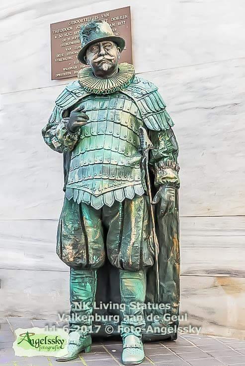 Levend standbeeld Willem van Oranje