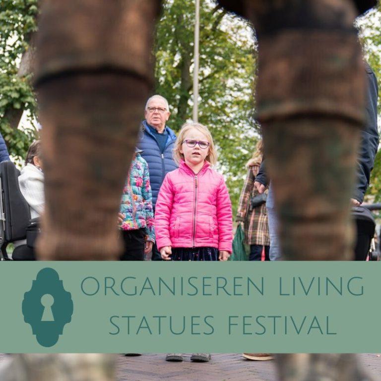 living statues festival organiseren